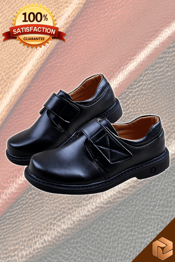 Leather Boys Shoes