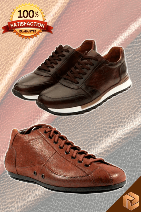 Leather Sports Shoes