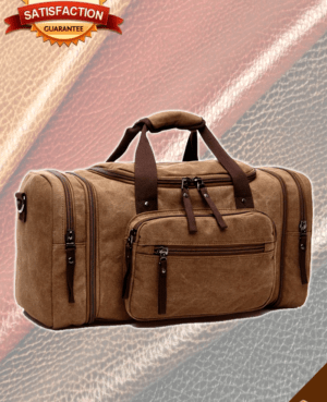 Leather Luggage Bag