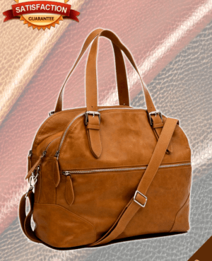 Leather Nappy Bag